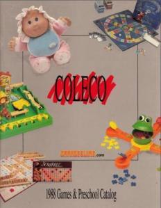 Catálogo Coleco 1988
