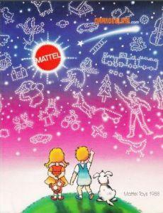 Catálogo Mattel 1988.