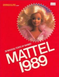 Catálogo Mattel 1989