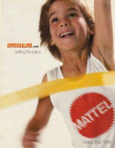 Catálogo Mattel 1986