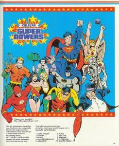 Catálogo Coleção Super Powers Estrela