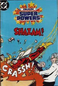 Mini Comic Shazam da Estrela