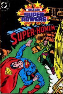 Mini Comic Super-Homem Estrela