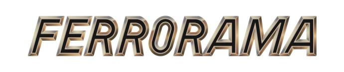 Logomarca Ferrorama - XP 1100 - 1500-01