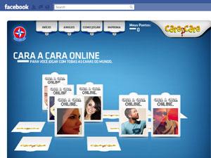 Versão do Cara a Cara no Facebook (Foto: Divulgação)