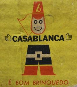 Logo da Indústria de Brinquedos Casablanca Ltda.